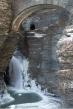 Watkins Glen Waterfalls in Winter