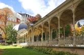 Autumn park in Karlsbad (Karlovy Vary)