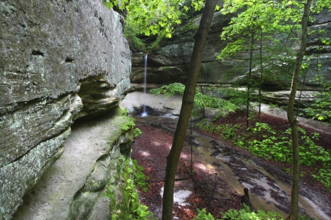 Owl Canyon Starved Rock State Park