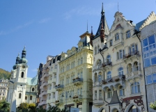 Carlsbad (Karlovy Vary) is the biggest spa town in the Czech Republic