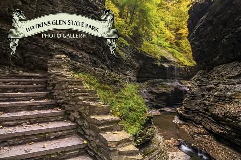 Watkins Glen Waterfalls New York