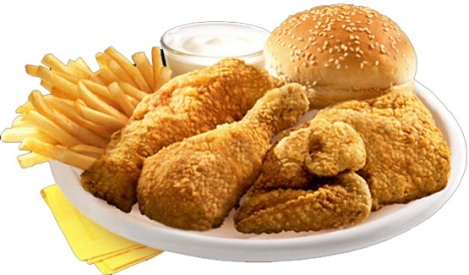 Albaik Chicken Meal
