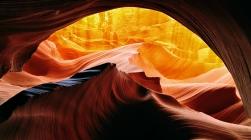 Antelope slot canyon arizona sandstone