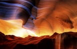 Antelope Canyon Sandstone Walls