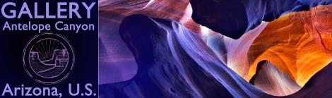 Antelope Canyon -- Banner