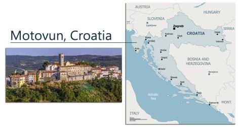 Motovun Croatia Map