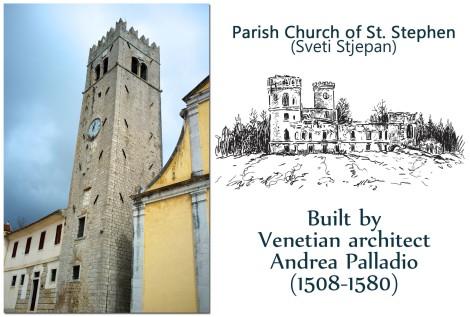 Motovun -- St Stephen Church