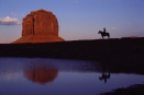 Horseback Rider in Monument Valley