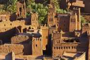 Clay kasbah Ait Benhaddou in Morocco