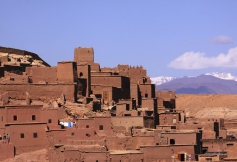 Ait Ben Haddou Kasbah, Atlas Mountains,