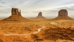 Mitten and Merrick Buttes - Monument Valley, Arizona
