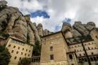 Sanctuary of Montserrat, Catalonia, Spain.