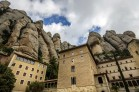 Sanctuary of Montserrat, Catalonia, Spain.