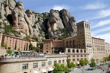 The Montserrat abbey