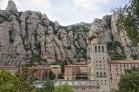 View of Montserrat Monastery