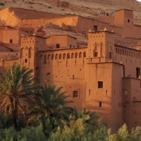 The Kasbah of Ait Benhaddou in Ouarzazate, Morocco