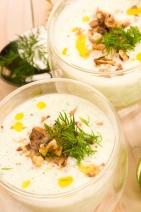 Tarator - traditional bulgarian cold summer soup