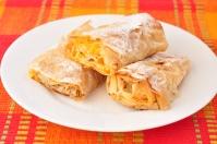 Bulgarian pumpkin roll