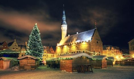 Christmas in Tallinn -- Estonia