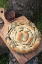 Bulgarian green pastry