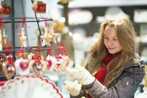 Christmas market Shopping