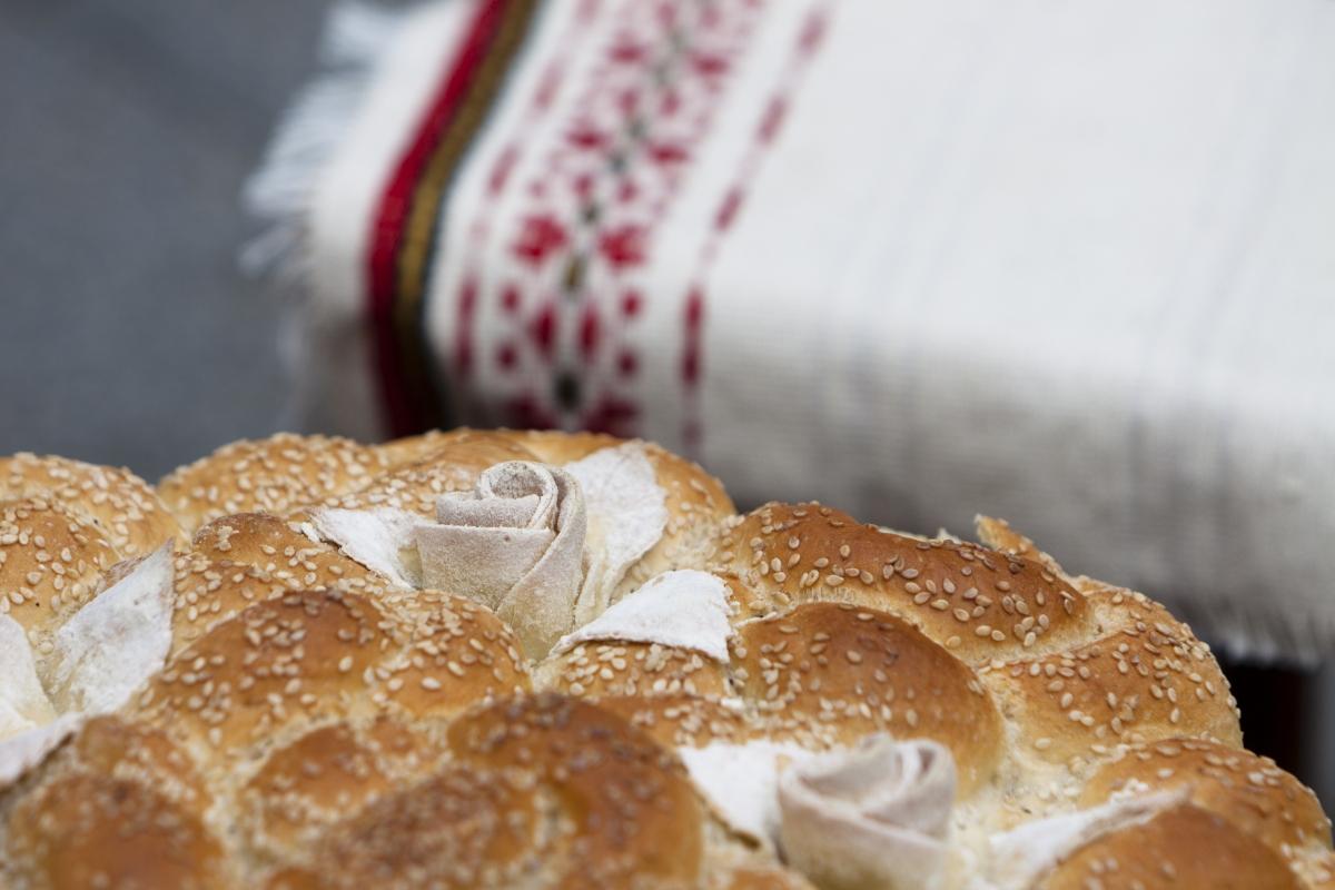 Bulgarian Traditional Bread