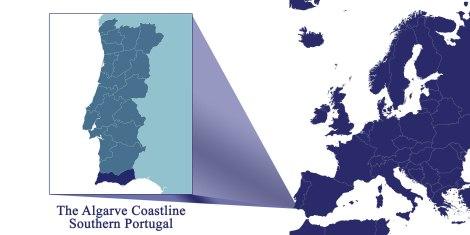 Algarve -- Map