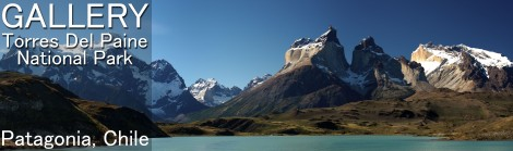 Torres Del Paine -- Banner