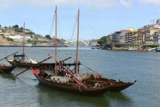 Rabelo Boat, Porto, Portugal