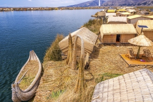 Uros Islands and Boat