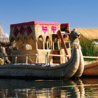 The Floating Uros Islands of Lake Titicaca, Peru