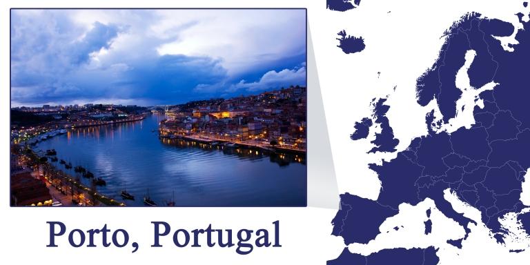 Porto -- Map