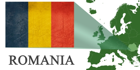 Romania -- Map
