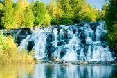 Bond Falls Waterfall