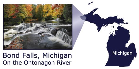 Bond Falls Michigan Map.Gallery Bond Falls Michigan U S A International Bellhop Travel