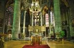 Interior of the Church in Dinant, Belgium