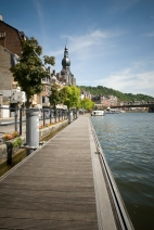 Dinant and the river