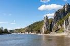 River Meuse near Dinant in Belgium