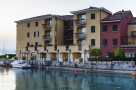 Embankment of Lake Garda in Sirmione, Italy