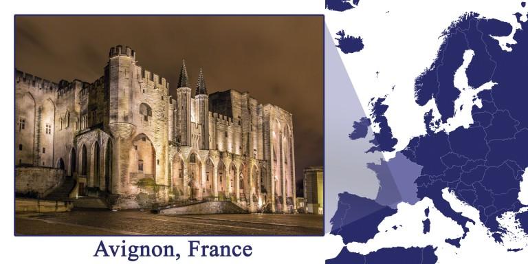 Avignon -- Map