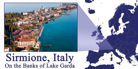 Sirmione Italy Map