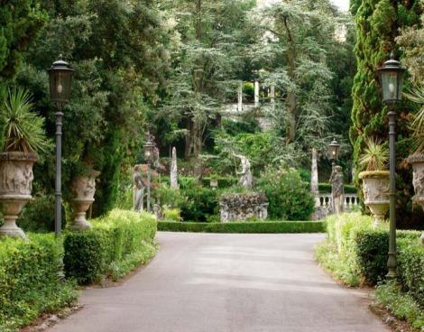 The Villa Cortine Gardens