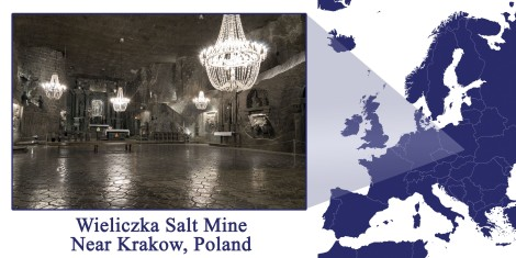 Wieliczka -- Map