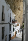 Typical street in setenil