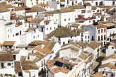 White houses of Setenil, Spain