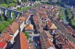 Fribourg cityscape