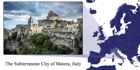 Matera -- Map