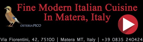 Osteria Pico Website Banner