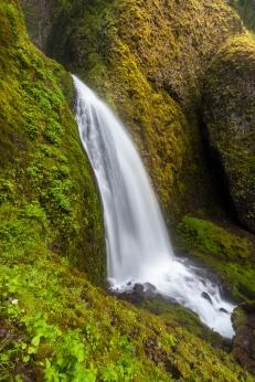 Wahkeena falls in Oregon, USA
