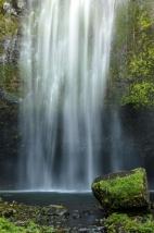 Splashing Waterfall